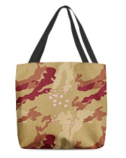 Brown Camo Face Mask Case Sneakers All-over Tote thumbnail