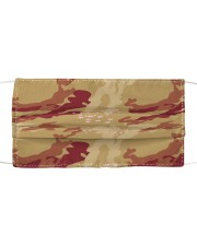 Brown Camo Face Mask Case Sneakers Mask tile