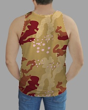 Brown Camo Face Mask Case Sneakers All-over Unisex Tank aos-tank-unisex-lifestyle01-back