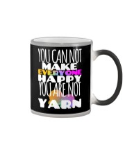 You Can't Make Everyone Happy Like Yarn Knitters Color Changing Mug tile