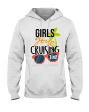 Girls Gone Cruising 2018 Hooded Sweatshirt front