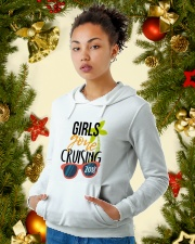 Girls Gone Cruising 2018 Hooded Sweatshirt lifestyle-holiday-hoodie-front-4