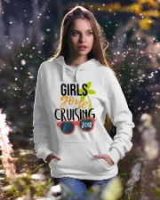 Girls Gone Cruising 2018 Hooded Sweatshirt lifestyle-holiday-hoodie-front-5