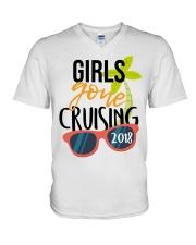 Girls Gone Cruising 2018 V-Neck T-Shirt thumbnail