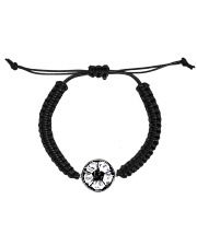 Soccer diamond  Cord Circle Bracelet thumbnail