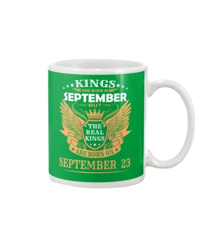 KINGS Are Born In September 23