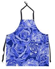 Beautiful blue roses Apron thumbnail