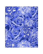 """Beautiful blue roses Quilt 40""""x50"""" - Baby thumbnail"""