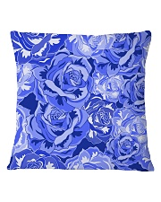 Beautiful blue roses Square Pillowcase thumbnail