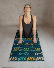 Ethnic Patterns Yoga Mat 24x70 (vertical) aos-yoga-mat-lifestyle-17