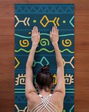 Ethnic Patterns Yoga Mat 24x70 (vertical) aos-yoga-mat-lifestyle-23