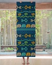 Ethnic Patterns Yoga Mat 24x70 (vertical) aos-yoga-mat-lifestyle-27