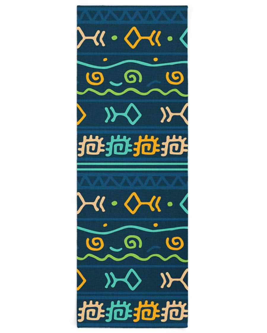 Ethnic Patterns Yoga Mat 24x70 (vertical)