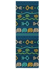 Ethnic Patterns Yoga Mat 24x70 (vertical) front