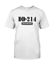 DD214 Fraternity Classic T-Shirt front