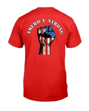 America Strong Premium Fit Mens Tee back