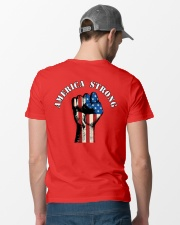 America Strong Premium Fit Mens Tee lifestyle-mens-crewneck-back-6