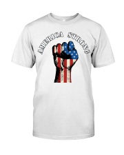 America Strong Premium Fit Mens Tee tile