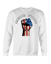 America Strong Crewneck Sweatshirt tile