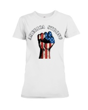 America Strong Premium Fit Ladies Tee thumbnail