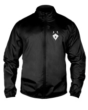 Cool Wolf Face White And Black Color Lightweight Jacket thumbnail