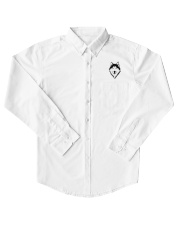 Cool Wolf Face White And Black Color Dress Shirt thumbnail