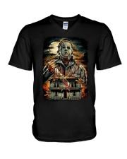 Michael Myers V-Neck T-Shirt thumbnail