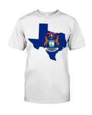 MIchigander Or Texan Classic T-Shirt front