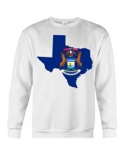 MIchigander Or Texan Crewneck Sweatshirt thumbnail