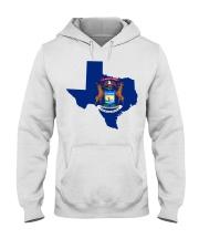 MIchigander Or Texan Hooded Sweatshirt thumbnail