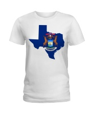 MIchigander Or Texan Ladies T-Shirt thumbnail