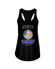 Womens 2019 March Wave on Washington DC 5 Ladies Flowy Tank thumbnail