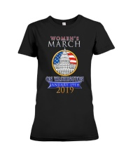 Womens 2019 March Wave on Washington DC 5 Premium Fit Ladies Tee thumbnail