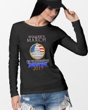 Womens 2019 March Wave on Washington DC 5 Long Sleeve Tee lifestyle-unisex-longsleeve-front-4