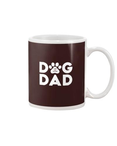 Dog Dad Life Is Good Shirt