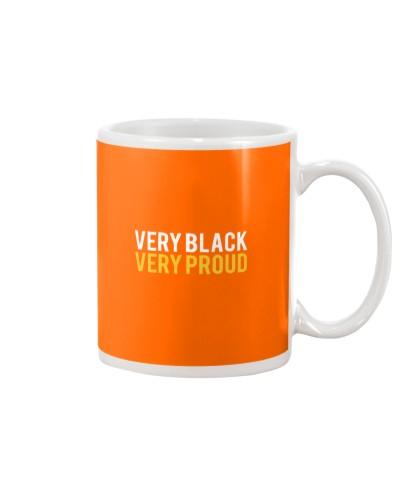 Very Black Very Proud Melanin Apparel Shirt