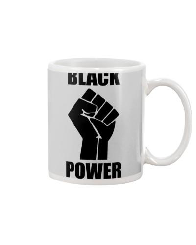 Black Power Fist Face Mask