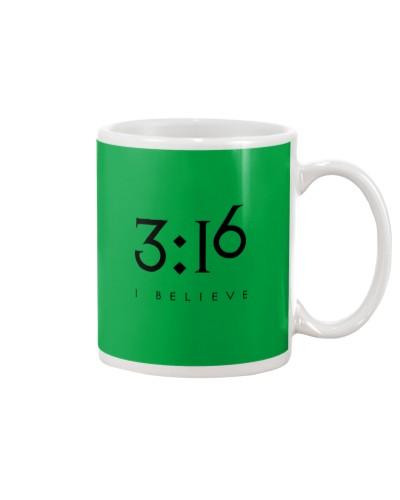 3 16 Jesus Faith Shirt