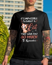 Cat shirt  i'm possible to forget a cat Classic T-Shirt lifestyle-mens-crewneck-front-8