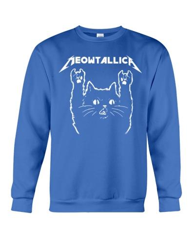 Cat meowtallica metal rock shirt