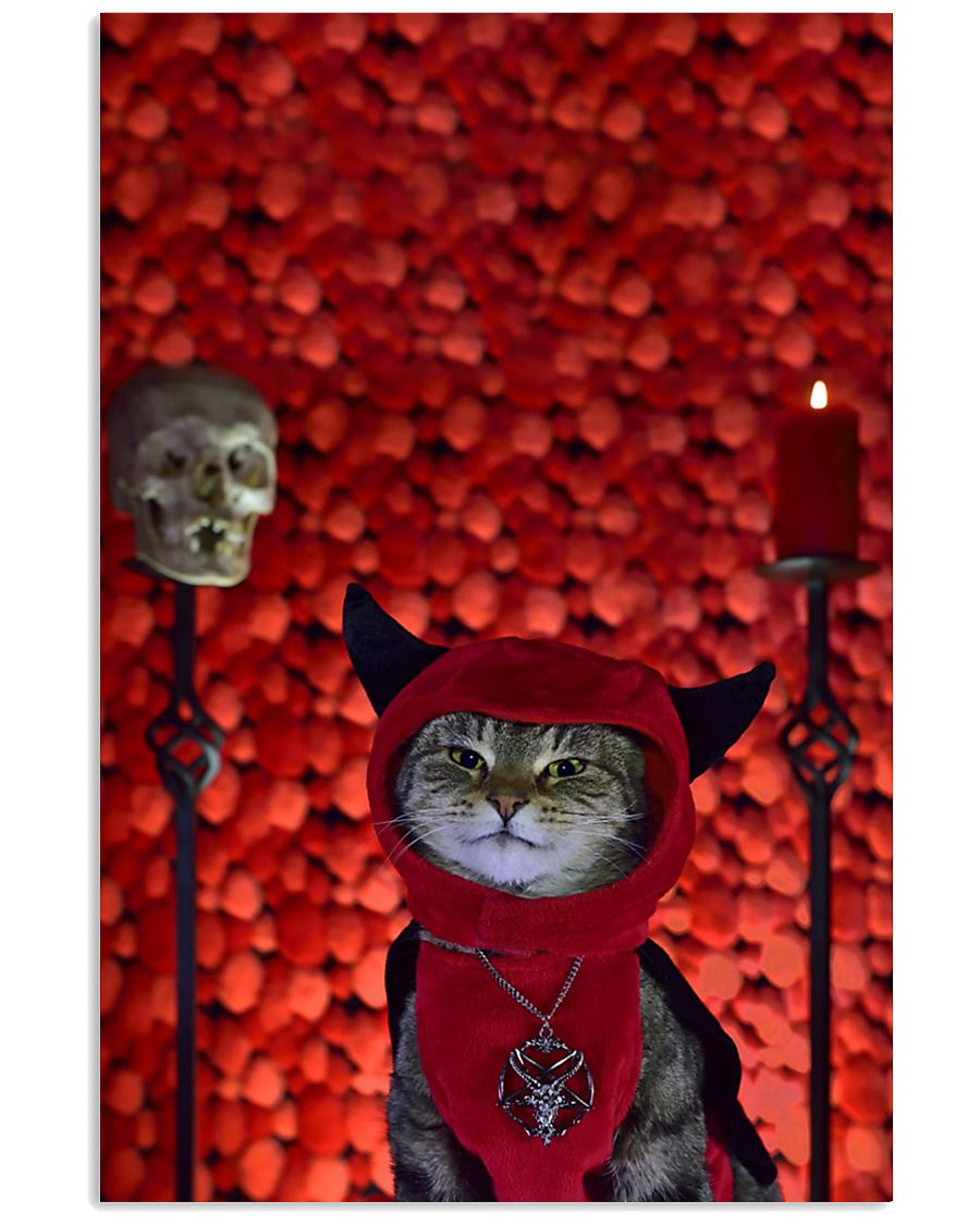 cat poster 11x17 Poster