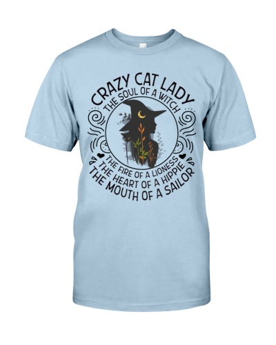 Cat shirt hippie witch lioness sailor lady