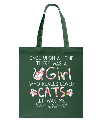 Cat shirt once upon a time there was a girl