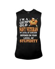 Navy Veteran T-Shirt Sleeveless Tee thumbnail