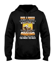 Once A Roofer T-Shirt Hooded Sweatshirt thumbnail