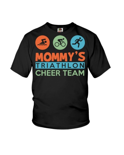 mommy's triathlon cheer team