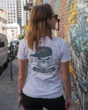 Peterbilt Ladies T-Shirt lifestyle-women-crewneck-back-2