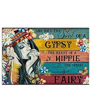 The Heart Of A Hippie 17x11 Poster front