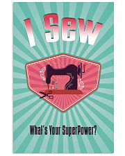 I Sew - What's Your Super Power Vertical Poster tile