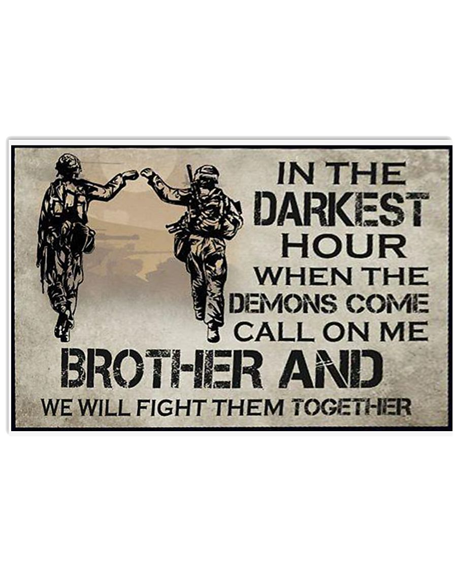 In The Darkest Hour Brother 17x11 Poster